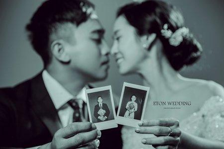 質感系婚紗照。台南婚紗攝影推薦-伊頓自助婚紗
