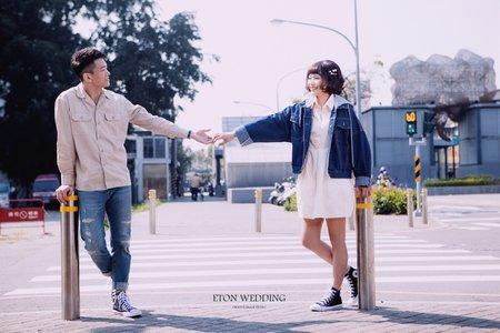 婚紗攝影風格推薦💛-台南拍婚紗-伊頓自助婚紗