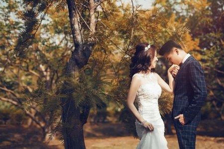 葉落黃昏怎麼辦,那就愛到天荒底老-H&X客照