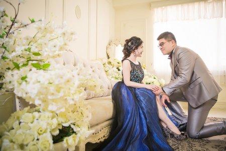 中式婚紗攝影