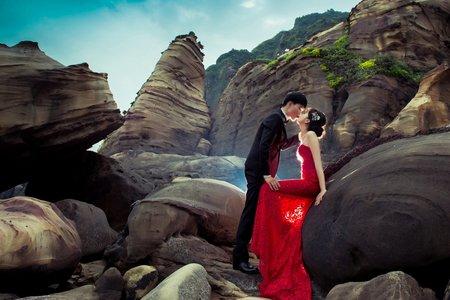 【帶著婚紗去旅行】走訪山、海、森林小溪