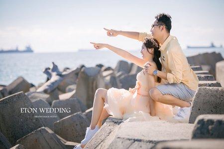 【憶起到過的地方💜】K&X客照推薦-高雄伊頓自助婚紗