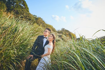 🌲唯美山林🌲之擎天崗不思議-旅拍婚紗