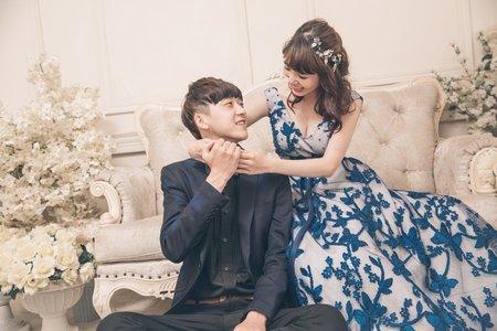 【黑鍵與白鍵】經典韓風棚拍婚紗照💜C&L客照分享