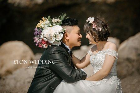最甜的笑容是妳-W&C客照分享-高雄伊頓婚紗推薦💜