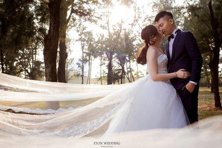 必拍大自然婚紗照