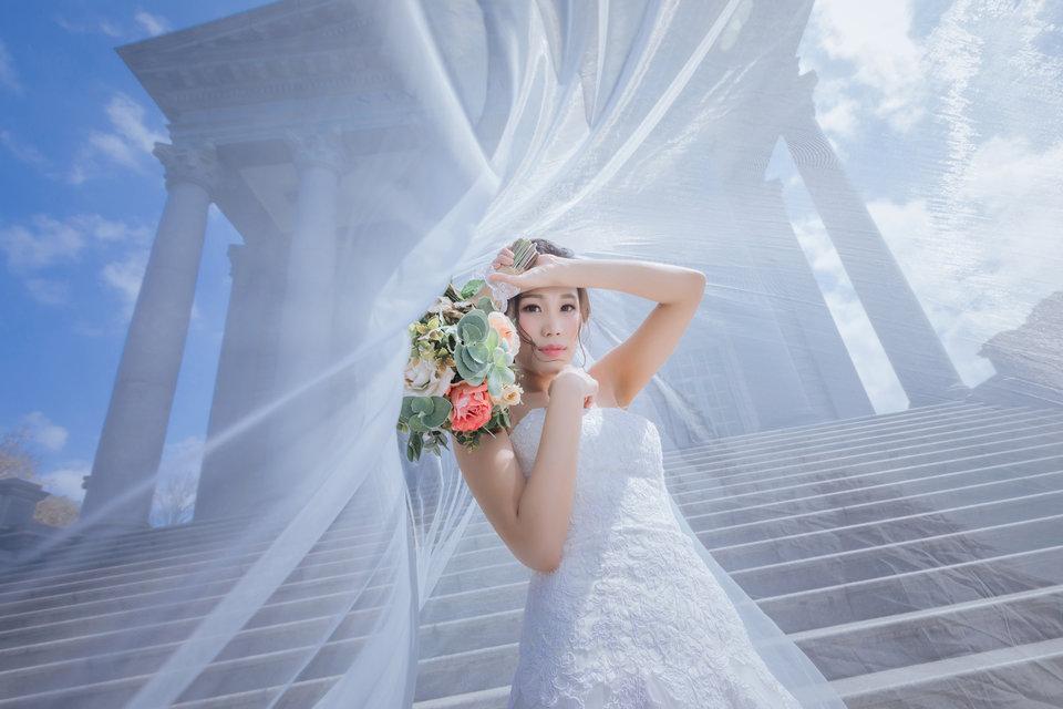 【Judy婚紗】茱蒂文創 · 婚禮,我從紐約來我選擇judy文創~大推