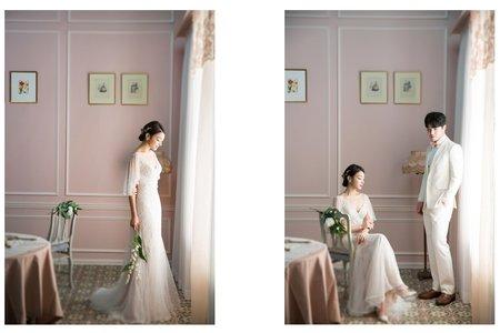 韓式婚紗照-台北手工婚紗-艾美手工婚紗