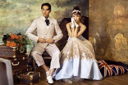 《不是梵谷不是莫内》上海徠麗視覺婚紗攝影工作室