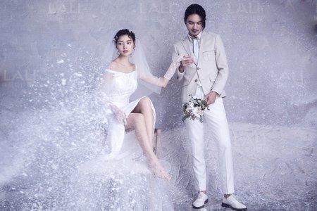 《雪山淀青》徠麗視覺婚紗攝影工作室