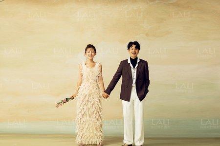 《高更油畫風‧蜜戀》-上海徠麗視覺婚紗攝影工作室