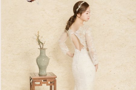 《工筆畫風格婚紗攝影》-上海徠麗婚紗攝影(客片)