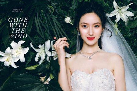 《韓式婚紗攝影》-綠植林園