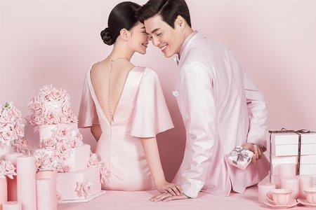 《美妝廣告風格婚紗攝影》-鵲爾喜商拍中心