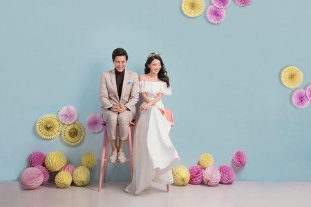 《雜誌廣告風格系列》-鵲爾喜商拍中心婚紗攝影