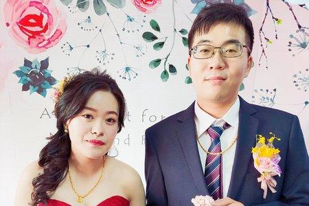 藍許府婚禮佈置【台中家宴】