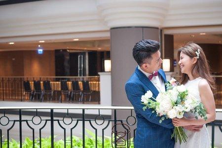 簡珮瀠-清新美式婚禮造型