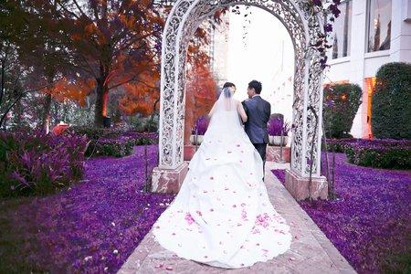 婚禮紀錄(林皇宮花園飯店)