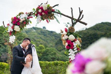 亞太戶外夢幻庭園婚禮