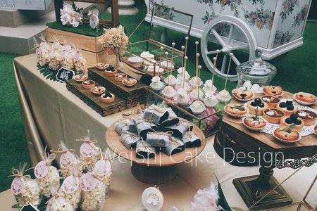 婚禮甜點桌