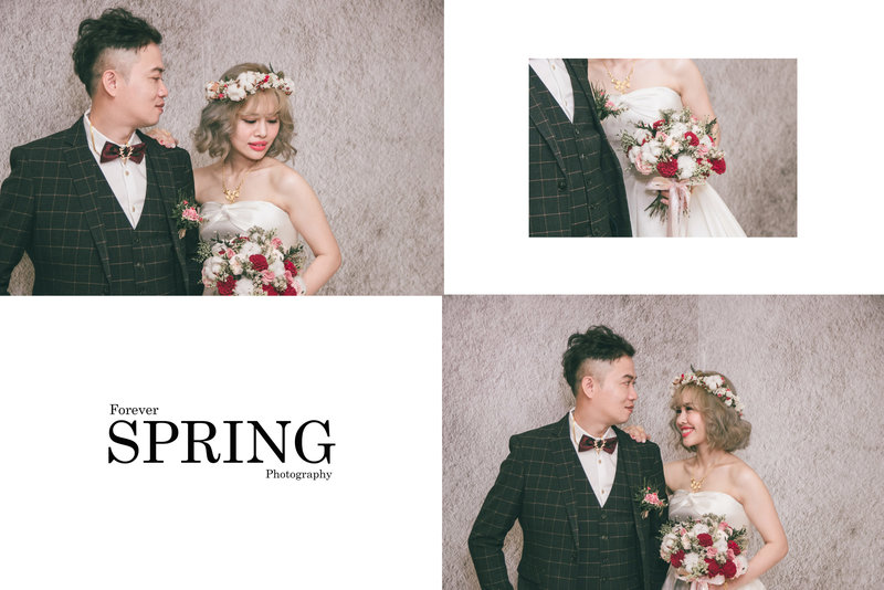 Forever Spring 婚禮紀實作品
