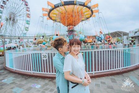 彩虹情侶寫真-小鬼&露露