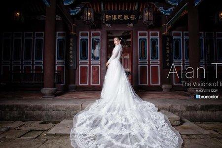 中西合璧婚紗