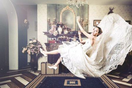 婚紗創作-漂浮婚紗💖