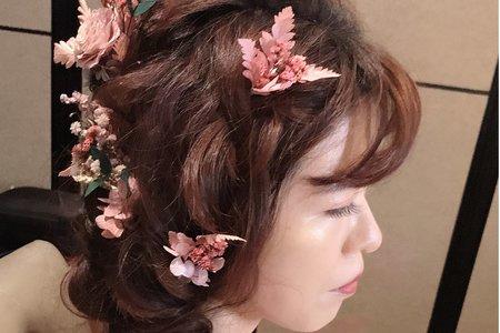 新娘鄧小姐妝感與第一套造型