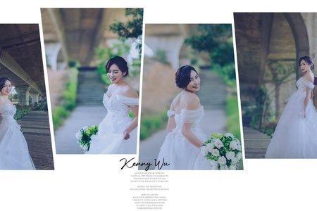 輕婚紗新娘