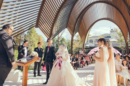 婚禮攝影-戶外證婚宴客