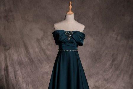 極致奢華緞面禮服