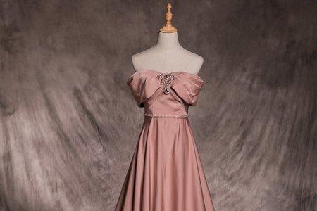 【禮服熱搜款】莫蘭迪色婚紗禮服