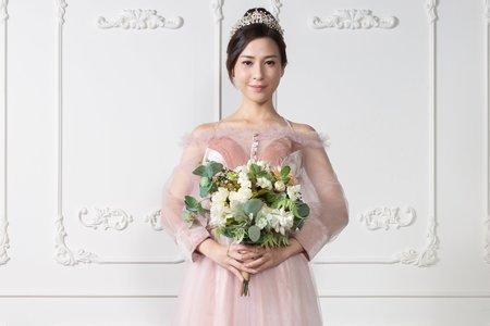 粉色甜美禮服