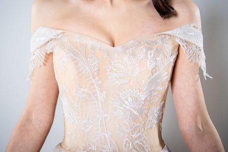 [春曉]高級手工婚紗