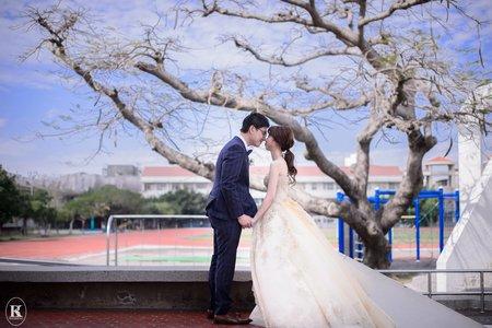 台南婚攝。萌&鈞。婚禮記錄@台南佳里國小禮堂