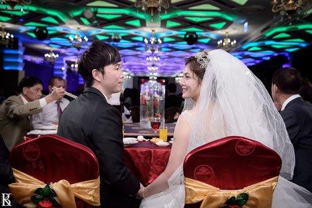 台中婚攝。彥+柔 。結訂婚之喜@中科大飯店&金華屋婚宴會館