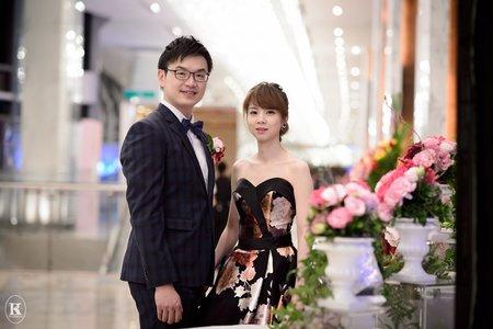 高雄婚攝。又萌&雅鈞。婚禮記錄@高雄漢神巨蛋