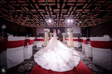 台南婚攝。聖凱&芳吟。婚禮紀錄@台南晶英酒店