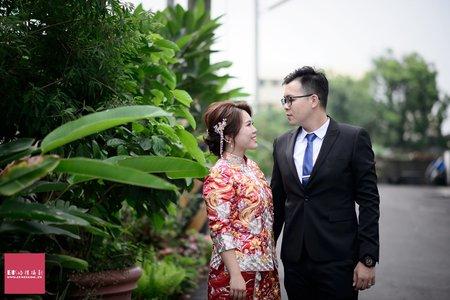 雲林婚攝。安❤芃。婚禮攝影 - 西螺天送餐廳