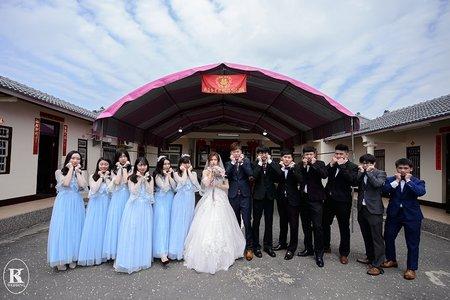 西螺婚攝。慶❤妮。婚禮記錄 - 雲林自宅流水席 (98漫遊民宿)