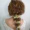 新秘RITA|新娘秘書|新娘造型|日系丸子頭|公主頭|髮絲感