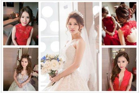 新秘RITA|新娘秘書|bride-janice|公主造型|浪漫|仙仙感|側邊大捲髮