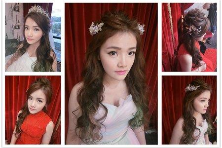 新秘RITA|新娘秘書|bride-詩芸|長髮造型|公主頭|仙氣