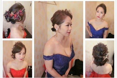 新秘rita|新娘秘書|bride-jocelyn|短髮新娘|短髮造型|油頭|公主頭|線條