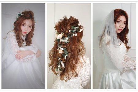 新秘rita|新娘秘書|新娘造型|新娘妝髮|盤髮