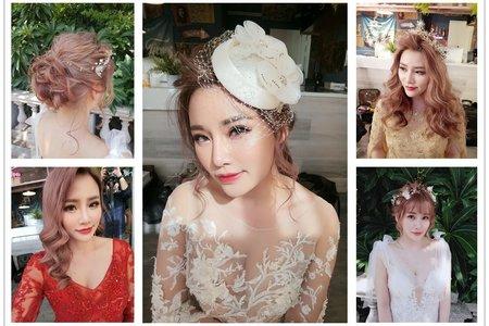新秘rita|自助婚紗|低馬尾|復古風|仙仙造型|光澤肌|韓系