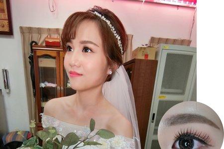 燕潔結婚造型紀錄