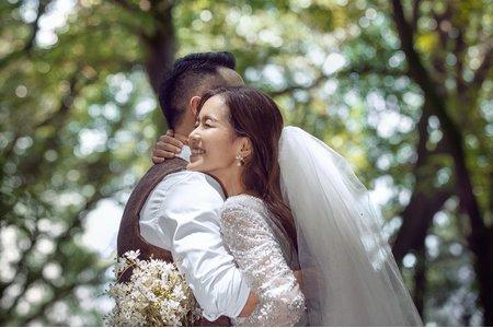 森情擁抱-森林系風格婚紗攝影