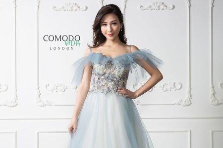 蘭色輕婚紗